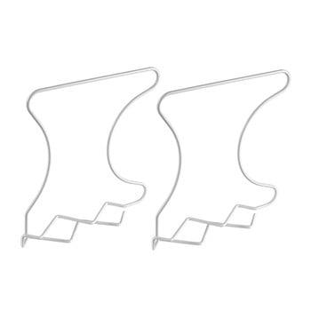Set 2 separatoare pentru raft Metaltex Wally, alb imagine