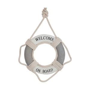 Závěsná dekorace Welcome on board
