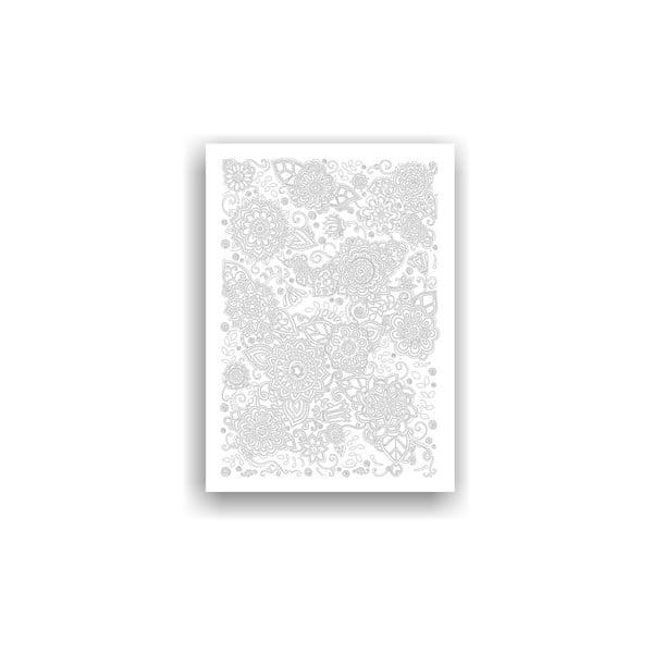 Obraz k vymalování Color It no. 80, 70x50 cm