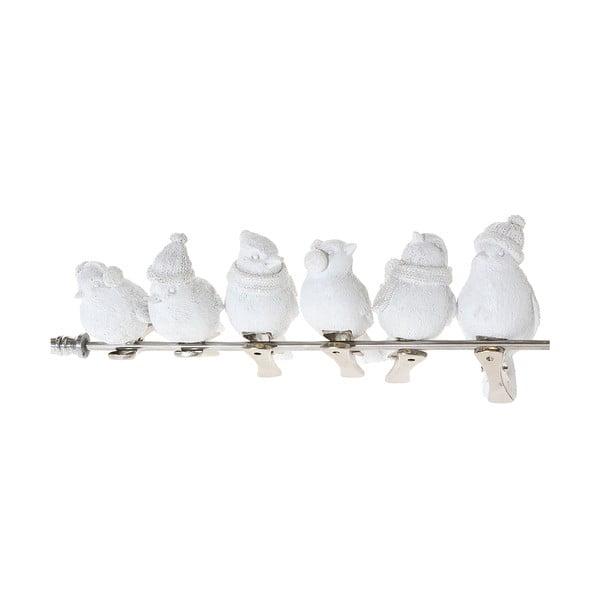 Sada 6 dekorativních holoubků Bird Dove