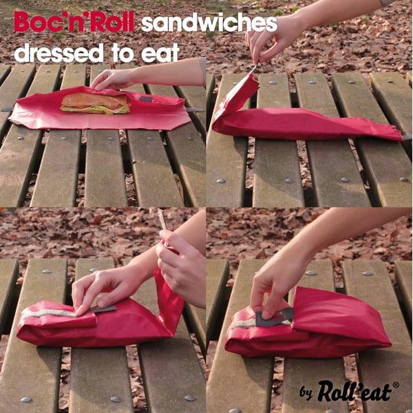 Svačinová kapsa Boc'n'Roll SQ, červená