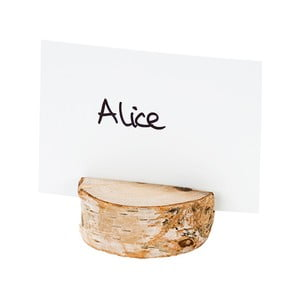 Suporturi pentru etichete nume Talking Tables Nordic Wooden, 4 buc.