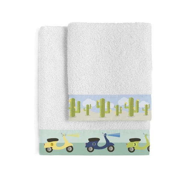 Sada 2 ručníků Happynois Summer