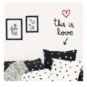 Dekorativní samolepka na zeď This Is Love