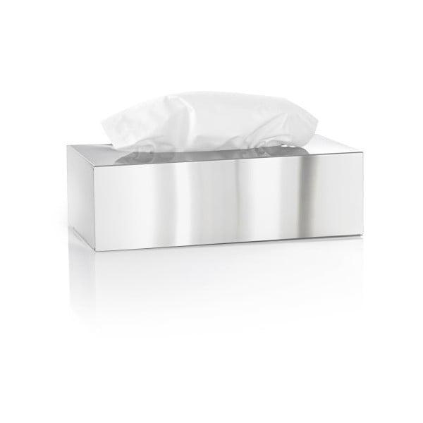 Lesklý nerezový box na kapesníčky Blomus Areo