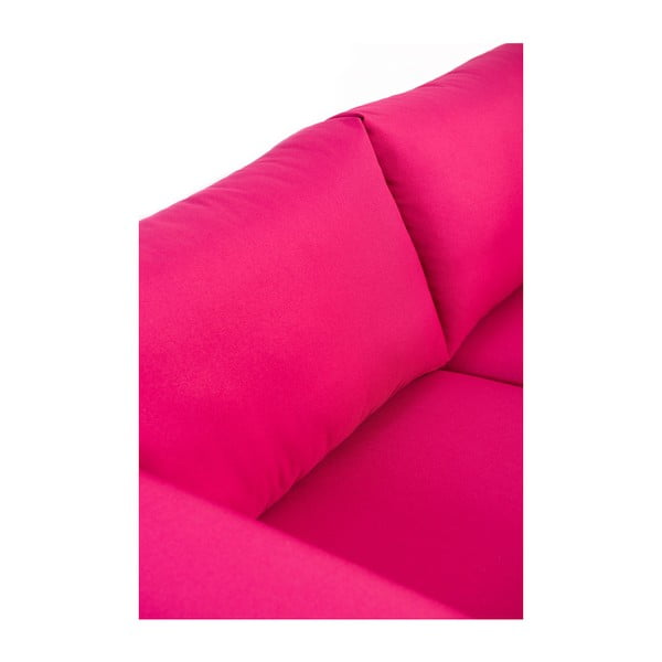 Růžová dvoumístná pohovka Charlie Pommier Relax