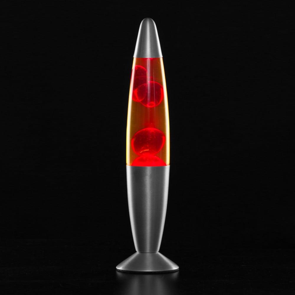 Červená lávová lampa InnovaGoods Magma