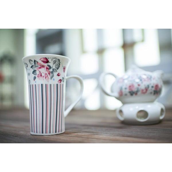 Porcelánový hrnek Duo Gift Růžička, 320 ml