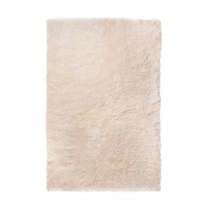 Covor din blană cu fir scurt Nia, 100 x 60 cm, alb