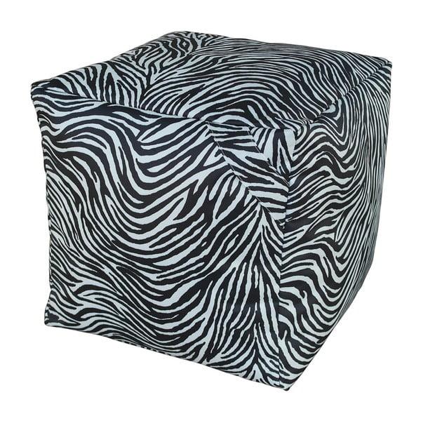 Černobílý puf 13Casa Zebra