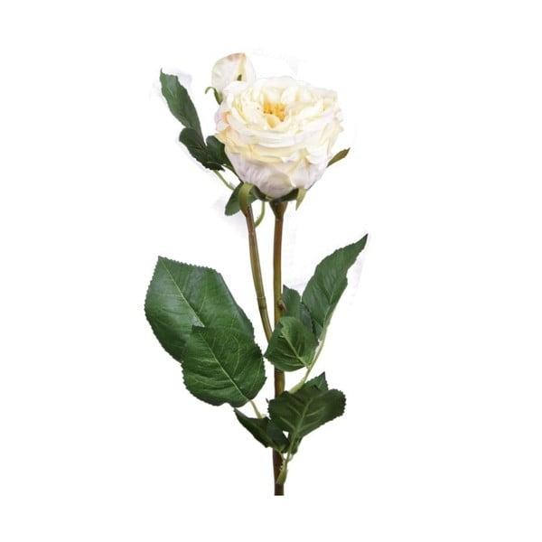 Umělá květina žlutá růže Ego dekor