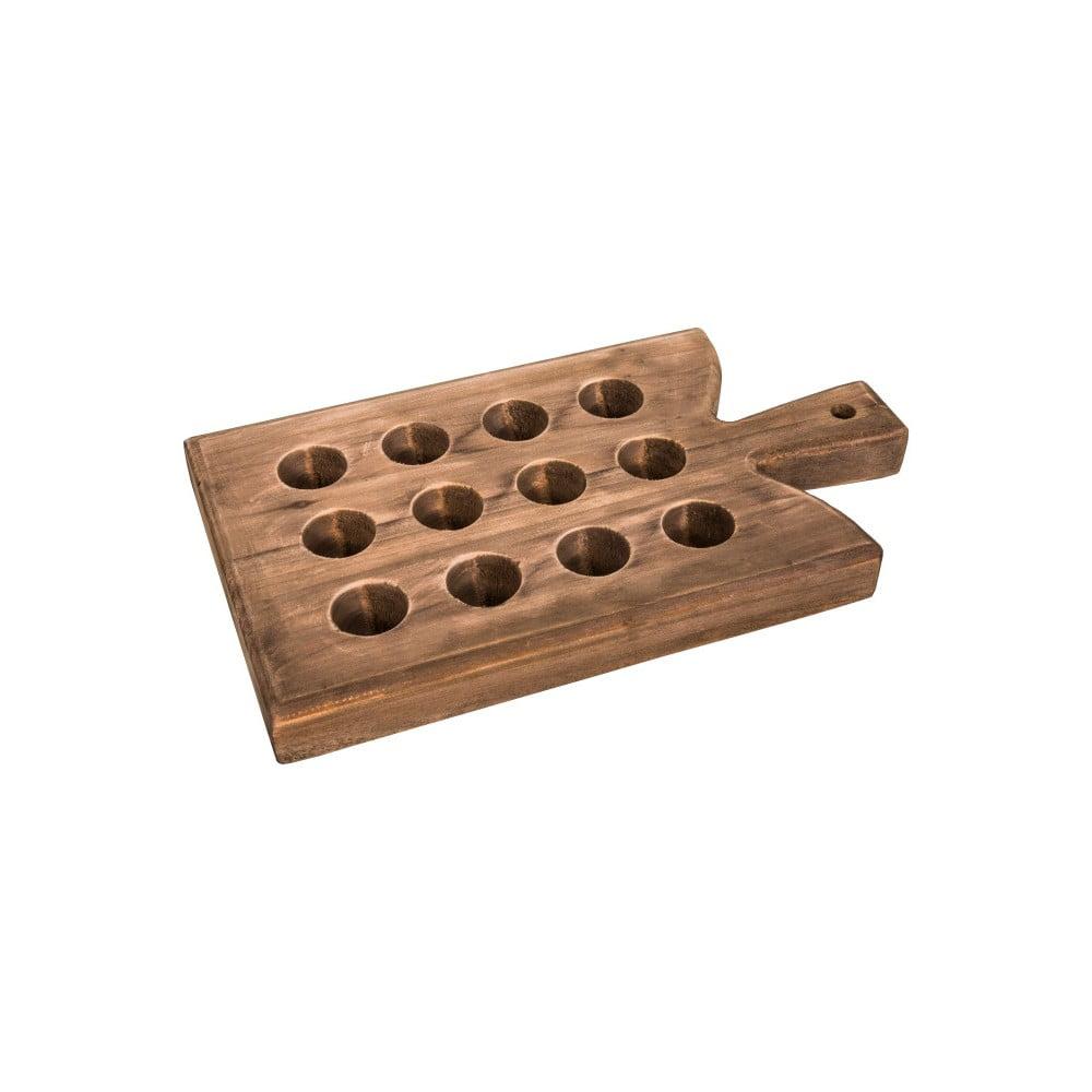Tác na 12 vajíček z jedlového dřeva Antic Line Antic Line