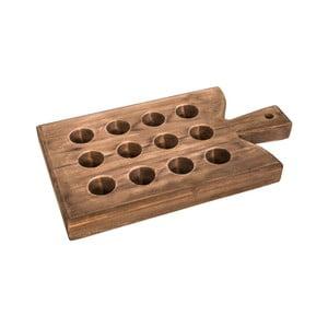 Suport din lemn pentru 12 ouă Antic Line