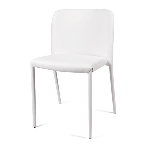 Jídelní židle Lilia, bílá