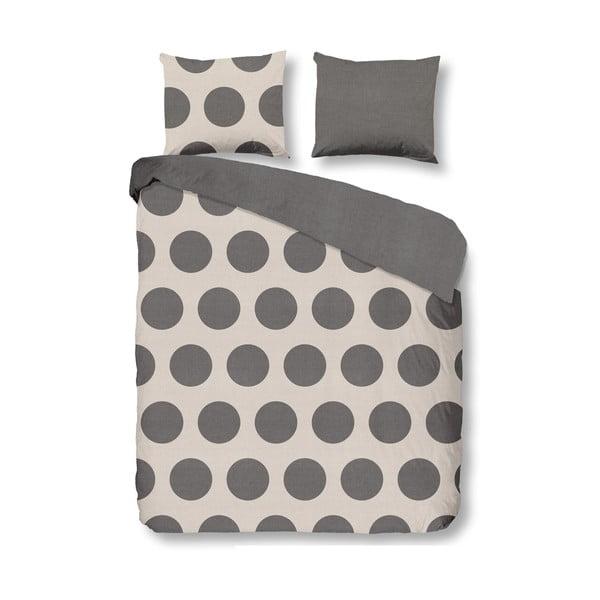 Povlečení Dots Grey, 140x200 cm
