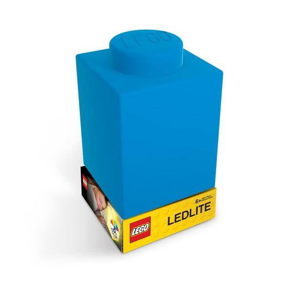 Niebieska silikonowa lampka nocna LEGO® Classic Brick