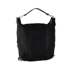 Černá kožená kabelka Ore Diece Maryland