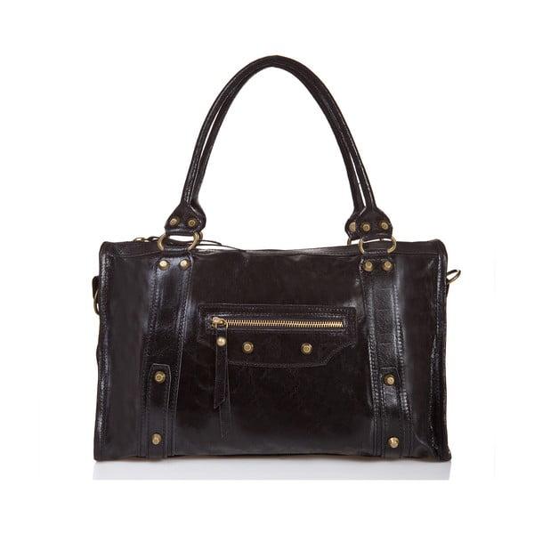 Kožená kabelka Massimo Castelli 1141 Black