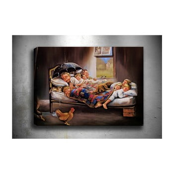 Tablou Tablo Center Happy Family, 70 x 50 cm