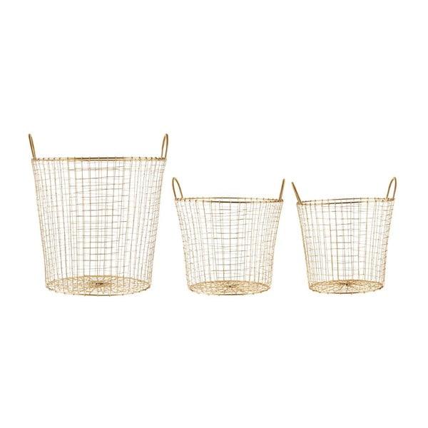 Sada 3 košíků Goldie Trio
