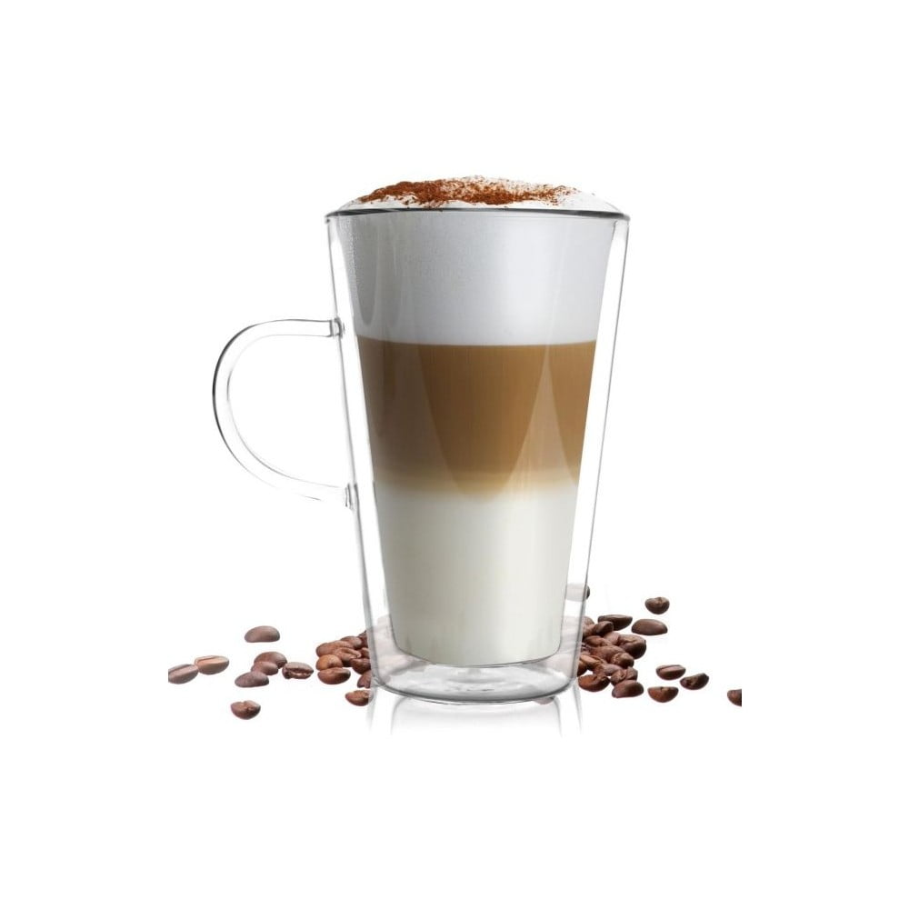 dvojit sklenice vialli design amo latte 320 ml bonami. Black Bedroom Furniture Sets. Home Design Ideas