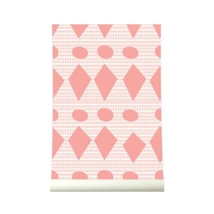 Tapeta Flags Pink