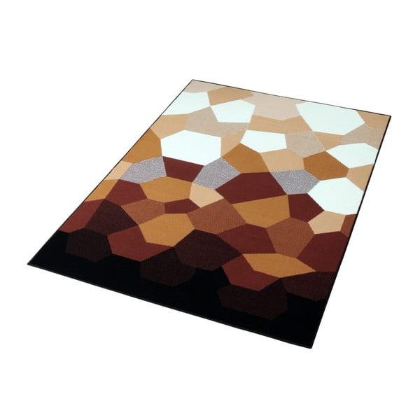 Karamelově hnědý koberec Prime Pile Abstract, 120x170 cm