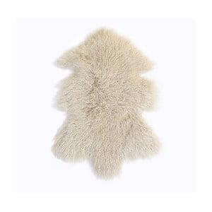Krémově bílý vlněný koberec z ovčí kožešiny Auskin Toran,60x80cm