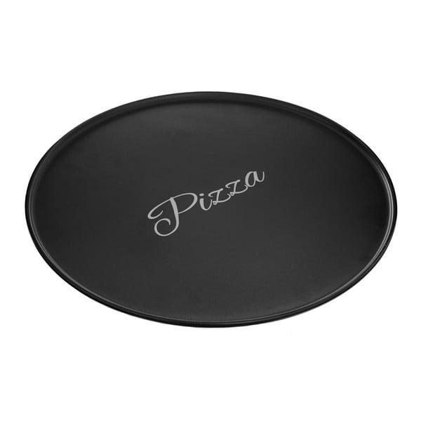 Černý kameninový talíř na pizzu Premier Housewares Mangé