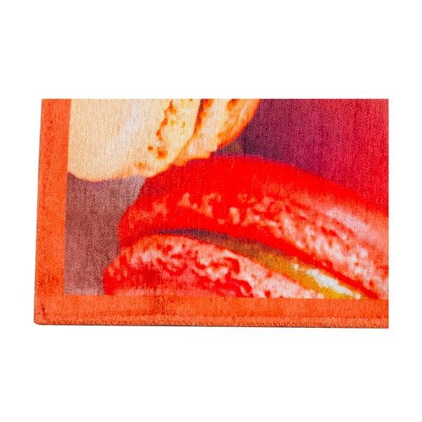 Vysoce odolný kuchyňský koberec Webtappeti Macarons, 60x110 cm