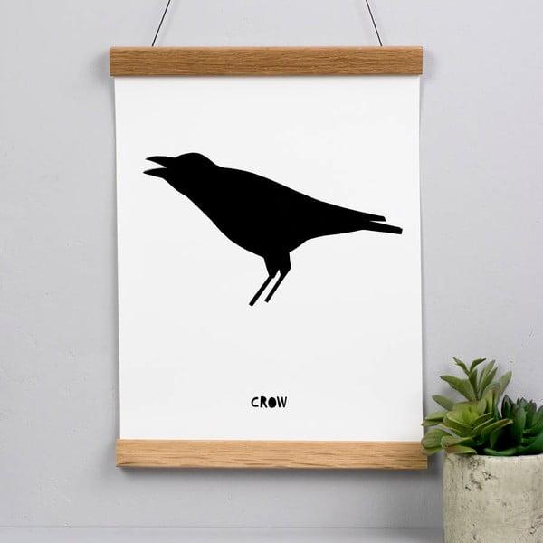 Plakát Karin Åkesson Design Crow, 30x40 cm