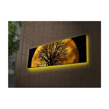 Tablou cu LED-uri Helios, 90 x 30 cm