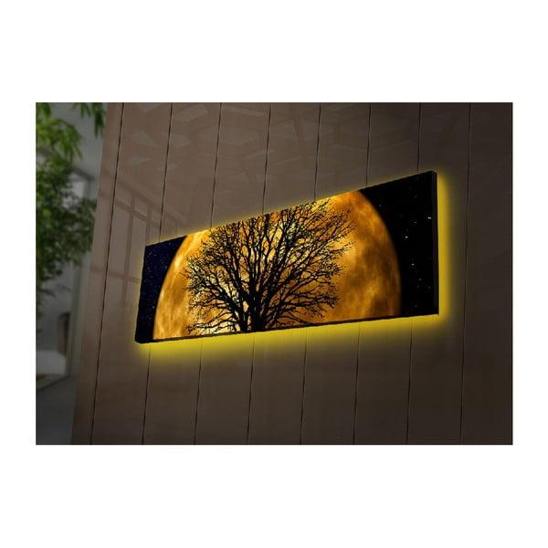 Podsvícený obraz Helios, 90x30cm