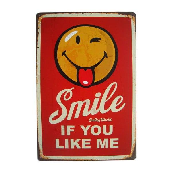 Cedule Smile, 20x30 cm