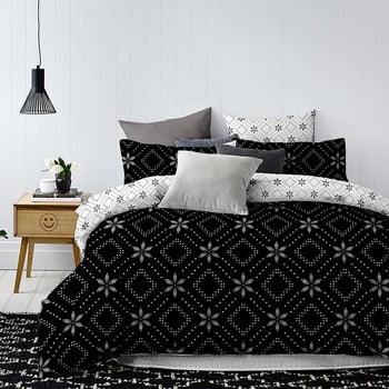 Lenjerie de pat din microfibră DecoKing Midnight, 135 x 200 cm
