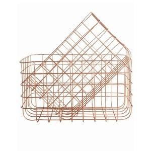 Sada 2 košíků Simply Copper L