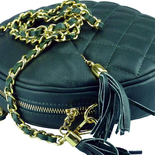 Kožená kabelka Giooa Green
