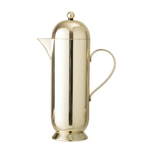 Kanvica na kávu v zlatej farbe Bloomingville Coffee Pot