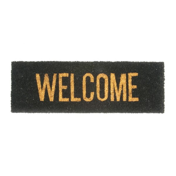 Preș PT LIVING Welcome Gold Coir, 75 x 26 cm