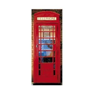 Fototapeta na dveře Telefonní budka, 86 x 200 cm