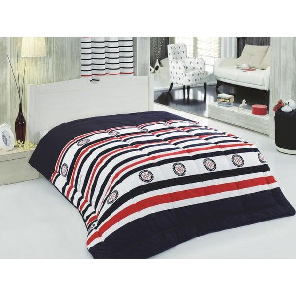 Set přehozu přes postel a prostěradla U.S. Polo Assn. Harrisburg,155x215cm