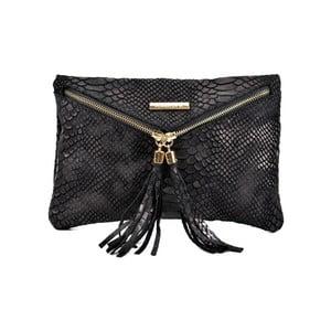 Černá kožená kabelka RobertaM Sarah