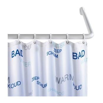 Suport universal pe colț pentru perdea duș Wenko, ø 2,8 cm, alb de la Wenko