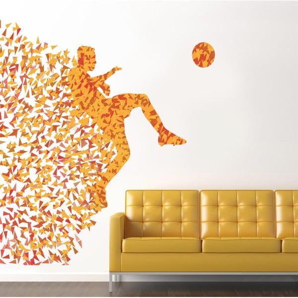 Samolepka na stěnu Fotbalista, 90x120 cm