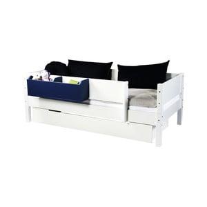 Bílá zásuvka určená pod postel Manis-h, 90x200cm