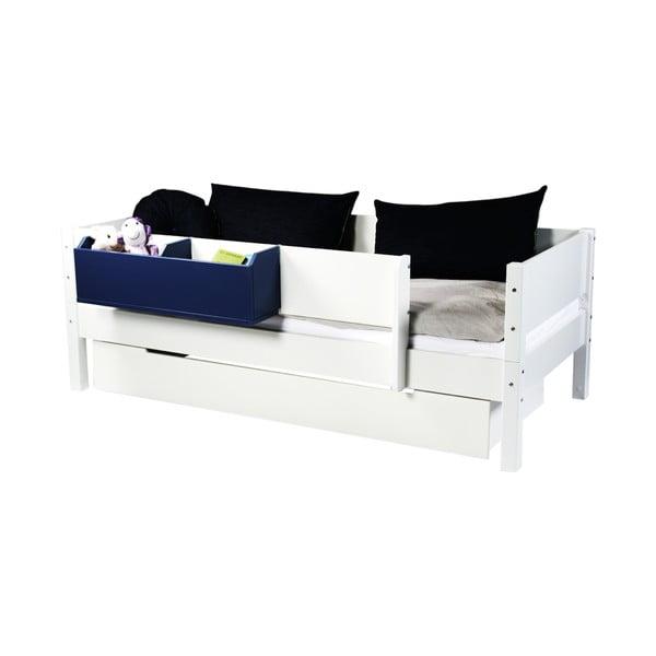Biała szuflada pod łóżko Manis-h, 90x200 cm