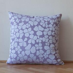 Polštář s výplní Light Violet Flowers, 50x50 cm