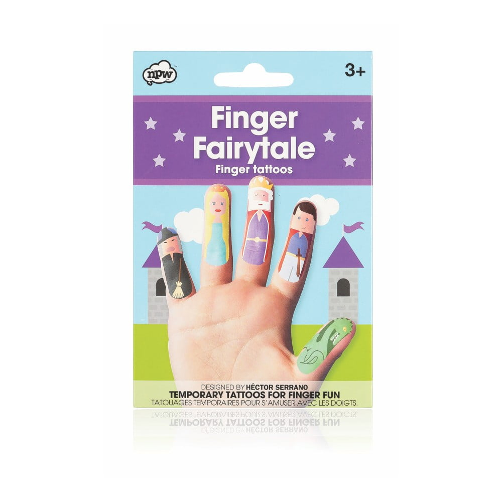 Sada tetování na prsty npw™ Fairytale