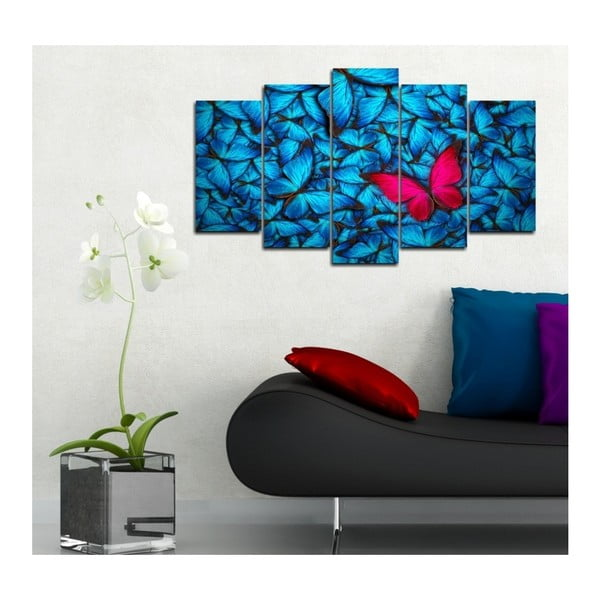 Vícedílný obraz 3D Art Azul Feel, 102x60cm
