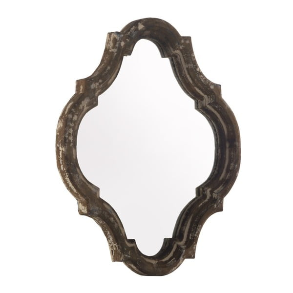 Hnědé zrcadlo Geese Antique